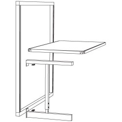 Production Basics - 1510 - ESD-Safe Add-On Bench 30 x 72