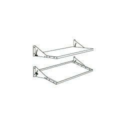 Production Basics - 8416 - Solid Metal Shelf 72