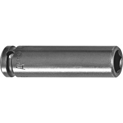 Cooper Tools / Apex - 7MM21 - Socket 1/4' Sq Dr 44.4mm Long 6-point Apex