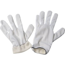 Desco - 68110 - Static Dissipative Hot Process Gloves, Large, Pair