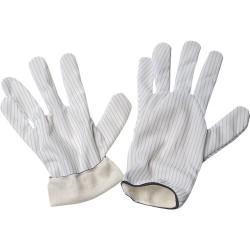 Desco - 68111 - Static Dissipative Hot Process Gloves, Medium, Pair