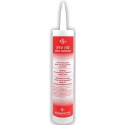 Momentive - RTV 133 - RTV Silicone One Part Adhesive, Black, 10.1 oz. Cartridge