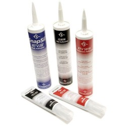 Momentive - RTV-160 - Sealant, Silicone, 1-Part, Electronics, Cartridge, White, 10.1fl.oz (US)