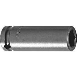 Cooper Tools / Apex - 1208 - 1/4 Socket Long 6 Pt 1/4 Sq Drive Apex
