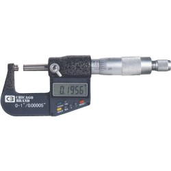 Chicago Brand - 50059 - 0-1 Micrometer Electronic Chicago Brand