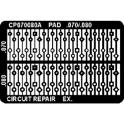 CircuitMedic - CP070080AT - Plated Thru Hole Repair Pads, .070/.080 (MOQ=12)