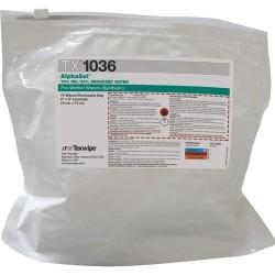 Texwipe - TX1036 - AlphaStat Presaturated 70% IPA/30% DI Water Wipes, 900 Wipes/Case