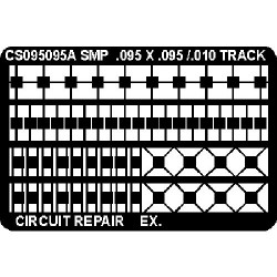 CircuitMedic - CS095095AT - Surface Mount Repair Pad, .095 x .095 (MOQ=12)