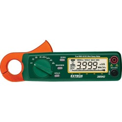 Extech Instruments - 380942 - Clamp Meter, Auto, True RMS, 30 A AC, 400 V AC, 400 V DC, 23 mm Jaw Opening Max.
