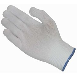 Protective Industrial Products (PIP) - 40-730/L - 100% Nylon Seamless Knit Glove Liner, Full Finger, Size Large, 12 Pair/Pkg.
