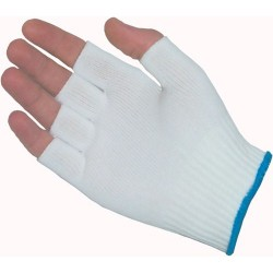 Protective Industrial Products (PIP) - 40-732/S - 100% Nylon Seamless Knit Glove Liner, Half-Finger, Size Small, 12 Pair/Pkg.