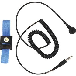 3M - WBB-AFWS121M - Static Control Wrist Strap, Blue, Fabric