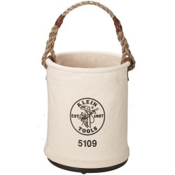 Klein Tools - 5109 - Bucket Leahter Bottom Klein Tools No. 6 15 Hx12 D Canvas, Ea