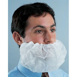 Other - APP0370-500 - Disposable Beard Covers, White, 500/Case