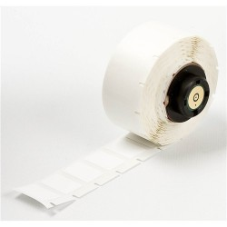 Brady - PTL-11-499 - Brady 1/2' W X 3/4' H White 0.0065' B-499 Nylon Cloth Label For TLS 2200/TLS PC Link Thermal Transfer Portable Printers (500 Per Roll), ( Roll )