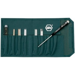 Wiha Quality Tools - 26992 - 15 Piece System 4 Reversible Blade Set