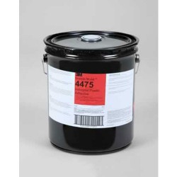 3M - 021200-21223 - Scotch-Weld Industrial Plastic Adhesive 4475, Clear, 5 Gallon