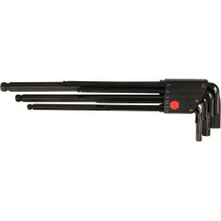 Wiha Quality Tools - 36990 - 9-pc. Long Hex L-key Setmetric Ball End