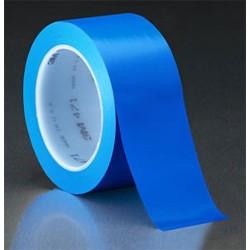 3M - 021200-03119 - Blue Vinyl Tape 1/2 x 36YD (MOQ=72)