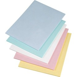 Texwipe - TX5816 - TexWrite 22 Cleanroom Bond Paper, (3-Hole Punched), Blue, 8.5 x 11 250 Sheets/Package, 10 Packages/Box