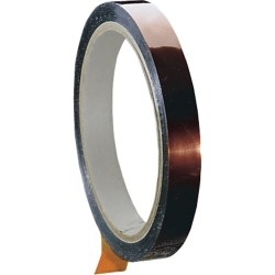 Shercon - 25-0500 - #25 2 Mil Polyimide Film Tape 1/2 Wide x 36 Yds Long