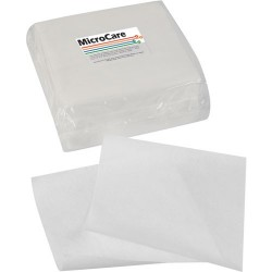 MicroCare - MCC W99PQS - Polyester Micro-Knit Wipes, 9 x 9, 100/Pkg (MOQ=5)