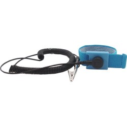 Botron - B9004 - Adjustable Wrist Strap with 6 Cord, 1/4 Snap
