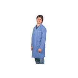 Desco - 73606 - Blue ESD Shielding Lab Coat, 3X-Large
