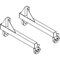 Iac Industries - Qs-00230-8298 - Qs Pas 4 Plate Caster Kit Retro-fit (each)