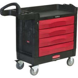 Rubbermaid - 4513-88 - TradeMaster 4-Drawer Cart, (40 x 18 x 38) 500 lbs. Capacity