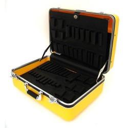 Platt Cases - 928TY-CB - Deluxe Poly Case, Yellow 8 Deep
