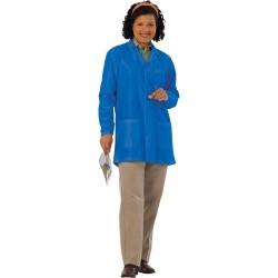 Worklon - 3480-LARGE - 3480l Large Royal Blue Esd Safe Unisex Jacket