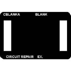 CircuitMedic - CBLANKAS - Var Blank Frame Ctc