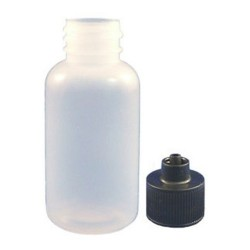 Jensen Global - JG1.0BC - 1 Ounce Boston Round Bottle & Black Cap Kit 10/Bag