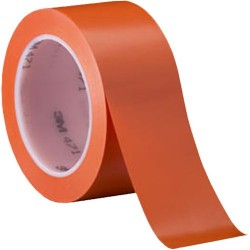 3M - 021200-03980 - 471-3/4 ORANGE PLASTIC TAPE 3/4