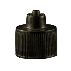 Jensen Global - JGC-512-10 - Black 1 Ounce Luer Lock Bottle Cap