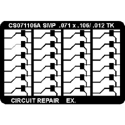 CircuitMedic - CS071106AS - Surface Mount Pad Frames Ctc
