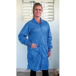 Tech Wear - LOC-23C-L - ESD-Safe Shielding Coat, BLue, Large