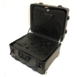 Platt Cases - 369TH-SGSH - Tool Case W/ Wheels and Telescoping Handle. 9 Deep