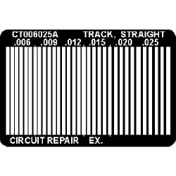 CircuitMedic - CT006025AS - Straight Track Lead Free Ctc