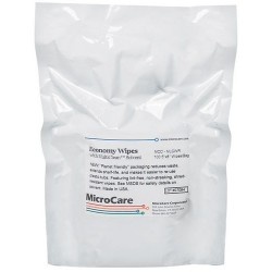 MicroCare - MCC-MLCWR - Refill for MCC-MLCW MultiTask Surface Cleaner 70/30 Presaturated Wipes, 100/Pkg