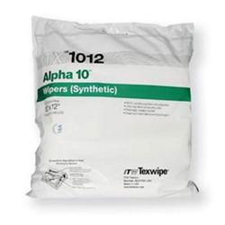 Texwipe - TX1012 - Alpha 10 Premium Polyester Sealed Border Wipes, 12 x 12, 100 Wipes/Double Bag (MOQ=10)
