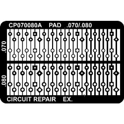 CircuitMedic - CP070080AS - Plated Thru Hole Repair Pads, .070/.080