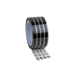 Desco - 79212 - Wescorp Antistatic Cellulose Tape, Clear w/ ESD Symbols, 2 x 72 YDS w/ 3 Plastic Core
