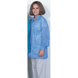 Desco - 73772 - Blue ESD Shielding Jacket with Cuffs, 4X-Large