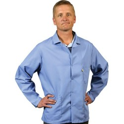 Tech Wear - 361ACB-L - Nasa Blue Esd Shielding Jacket