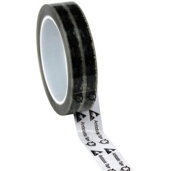 Protektive Pak / Desco - 46909 - Antistatic Tape with ESD Symbols, 1/2 x 72 Yards x 3 Plastic Core