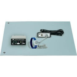 3M - 724-KIT - Dual-Wire Workstation Monitoring Kit with Blue 3-Layer Vinyl Table Mat