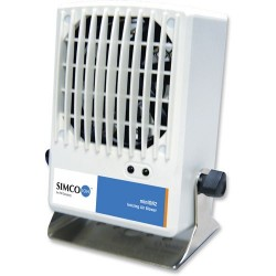 Simco - 4011425 - Ionizer, Air Blower, Minion 2, Benchtop, 24VDC, 250mA, 6W, with Power Supply