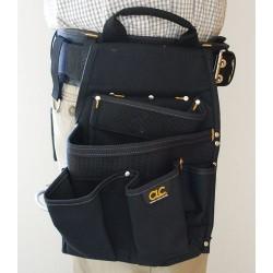 Custom Leathercraft - 5609 - Custom Leather Craft 5609 20-Pocket 3-Piece Double Layer Cordura Electrical Combo